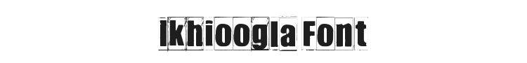 Ikhioogla Font