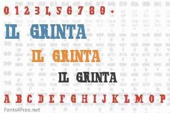 Il Grinta Font