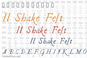 Il Shake Fest Font