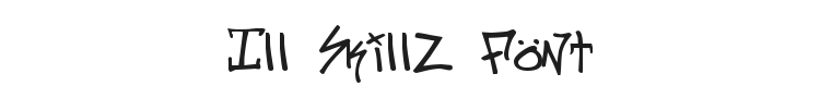 Ill Skillz Font Preview