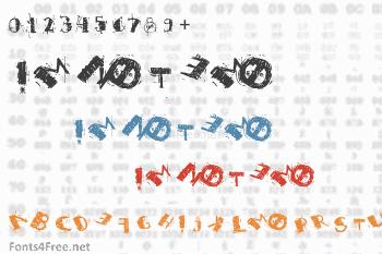 Im Not Emo Font