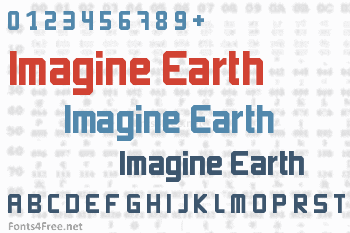 Imagine Earth Font