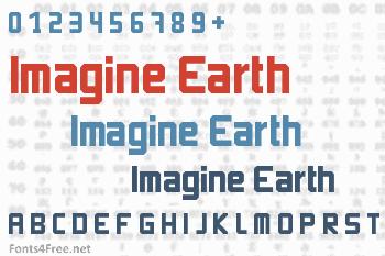 Imagine Earth Font