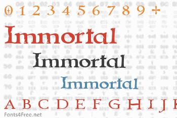 Immortal Font