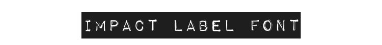 Impact label