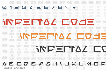 Imperial Code Font