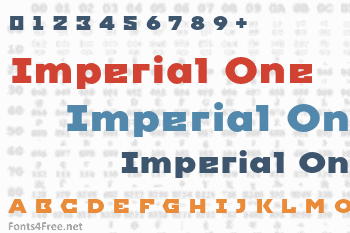 Imperial One Font