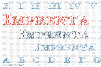 Imprenta Royal Nonpareil Font