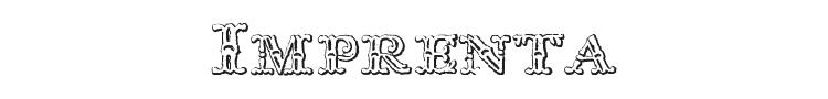 Imprenta Royal Nonpareil Font Preview