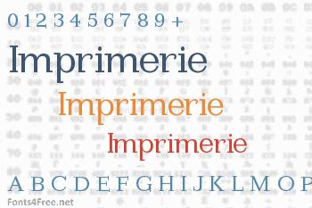 Imprimerie Font