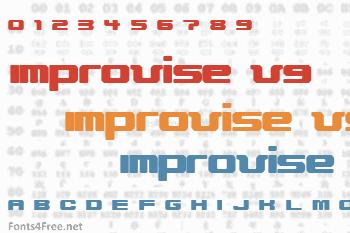 Improvise V9 Font