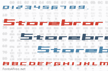 Inavel Storebror Font