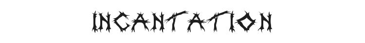 Incantation Font Preview