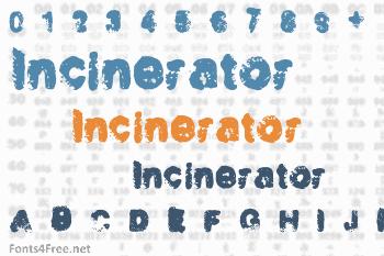 Incinerator Font