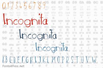 Incognita Font