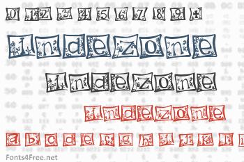 Indezone Font