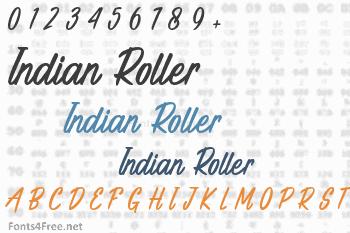 Indian Roller Font