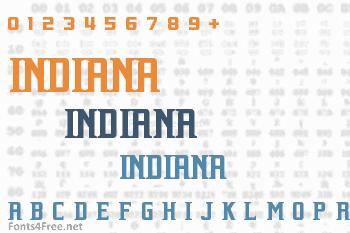 Indiana Font