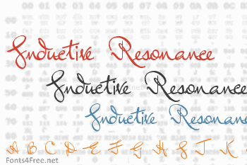 Inductive Resonance Font