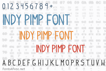 Indy Pimp Font
