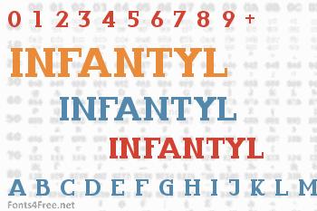 Infantyl Font