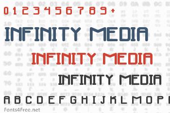 Infinity Media Font