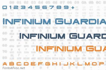 Infinium Guardian Font