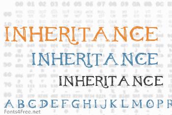 Inheritance Font
