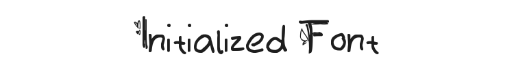 Initialized Font Preview