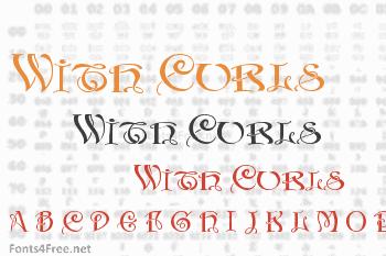 Initials With Curls Font