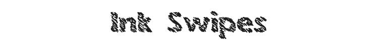 Ink Swipes Font