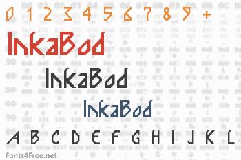 InkaBod Font