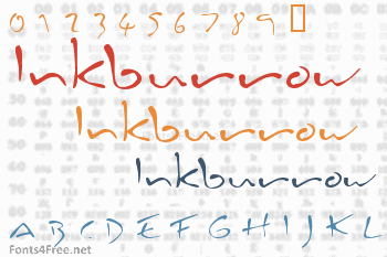 Inkburrow Font