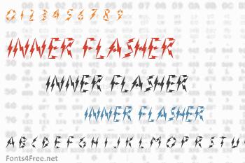 Inner Flasher Font