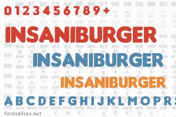 Insaniburger Font