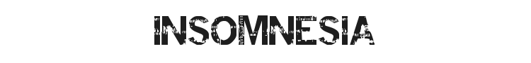 Insomnesia Font