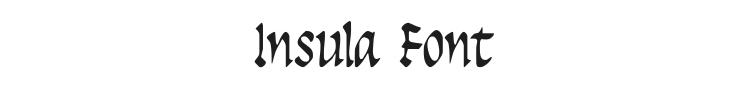 Insula Font