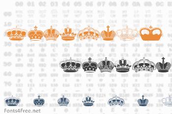 Intellecta Crowns Font