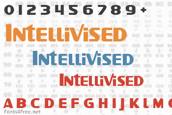 Intellivised Font