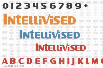 Intellivised Font