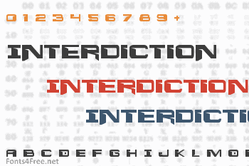 Interdiction Font