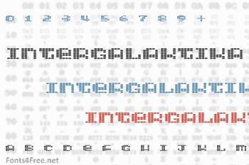 Intergalaktika Font