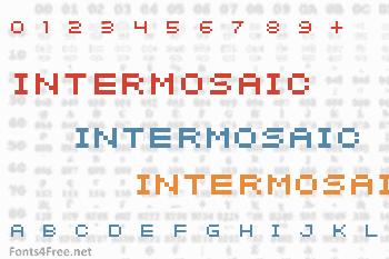 Intermosaic Font