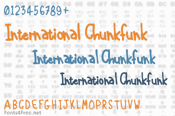 International Chunkfunk Font