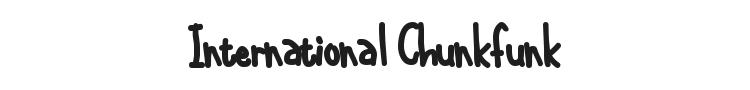 International Chunkfunk Font