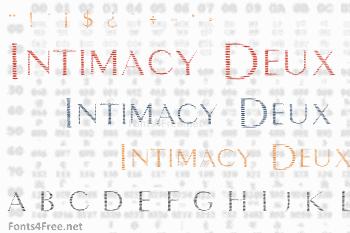 Intimacy Deux Font