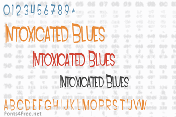 Intoxicated Blues Font