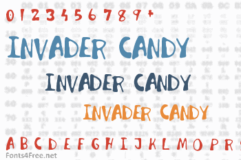 Invader Candy Font