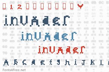 Invader Font