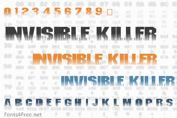 Invisible Killer Font